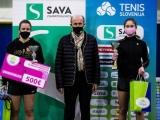 National championship in Tennis. Medvode, 22 December, 2020, Slovenia. Photo by Grega Valancic / SPORTIDA