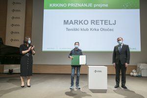 Marko Retelj - prejemnik Krkinega priznanja